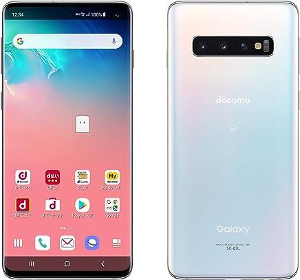 DOCOMO Galaxy S10 SC-03L prism white