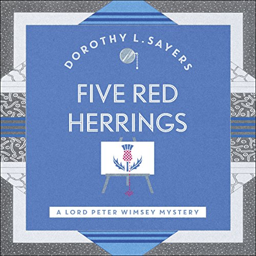 Five Red Herrings audiobook cover art