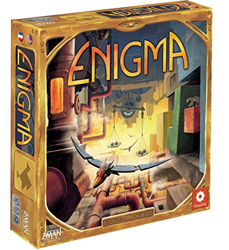 F2Z Entertainment ZMG71440 - Brettspiele, Enigma