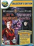 Mystery Case Files KEY TO RAVENHEARST + RAVENHEARST UNLOCKED Hidden Object PC Game