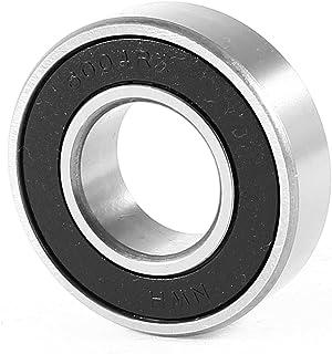 uxcell ボールベアリング 深溝玉軸受 6004RZモデル ベアリング 炭素鋼 ゴム製 1個 42x20x12mm
