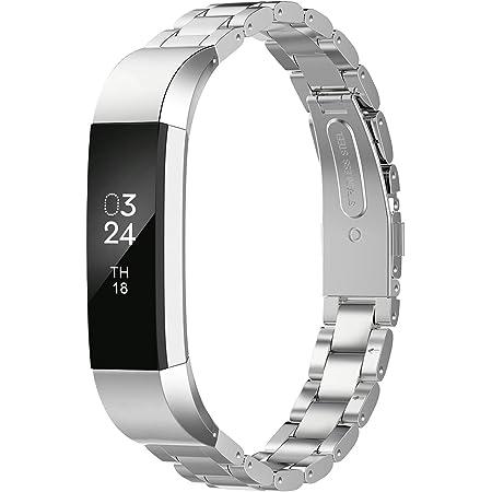Fitbit Alta Silver Tone Bracelet Bangle Band