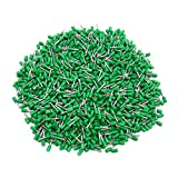 sourcing map 1000Pc 1mm2 AWG18 Isolation automobile fin cordon fil Borne verte embouts
