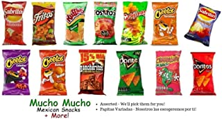 Sabritas Mexican Chips (4-pack) (ASSORTED -VARIADO)