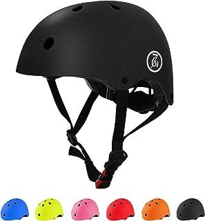 کلاه ایمنی دوچرخه بزرگسال Skateboard Helmet CPSC بالغ قابل تنظیم و محافظت برای دوچرخه سواری دوچرخه سواری اسکیت بورد اسکوتر غلتکی اسکیت اسکیت خطی غلتکی Longboard