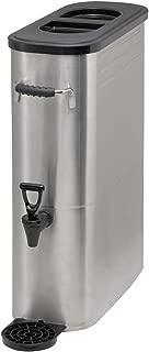 Winco SSBD-5 Stainless Steel Ice Tea Dispenser, 5-Gallon