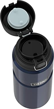 Thermos Stainless King Vacuum Insulated Bottle, 710ml, Midnight Blue, SK4000MBAUS