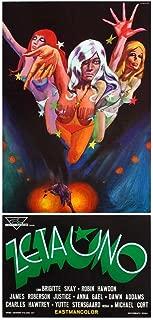 Zeta One Movie Poster (13 x 28 Inches - 34cm x 72cm) (1970) Italian -(James Robertson Justice)(Charles Hawtrey)(Robin Hawdon)(Anna Gael)(Brigitte Skay)(Dawn Addams)