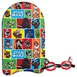 Eolo - STAR WARS Gafas & tabla natación 27x4x44 cm (ColorBaby 53494)