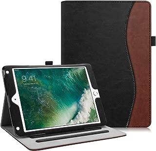 Fintie iPad 9.7 2018 2017 / iPad Air 2 / iPad Air Case - [Corner Protection] Multi-Angle Viewing Folio Cover w/Pocket, Auto Wake/Sleep for Pad 6th / 5th Gen, iPad Air 1/2, Dual Color