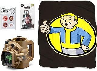 Fallout Lone Wanderer Survival Bundle: Magnets, Air Freshener, Blanket, Mug