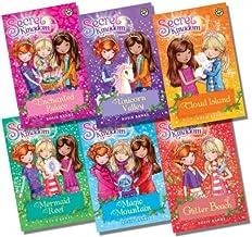 Secret Kingdom Series 1 Collection By Rosie Banks 6 Books Set (Enchanted Palace, Unicorn Valley, Cloud Island, Mermaid Reef, Magic Mountain, Glitter Beach)