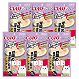 【Amazon.co.jp限定】 チャオ (CIAO) キャットフード CIAOちゅ~る 胃腸の健康維持に配慮 とりささみ 14g×4本×6袋パック