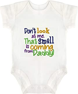 Funny Baby Grow 50% Mummy 50% Daddy 100% Perfect Rap Baby Vest Bodysuit for Baby Gifts or Unisex Baby Clothes