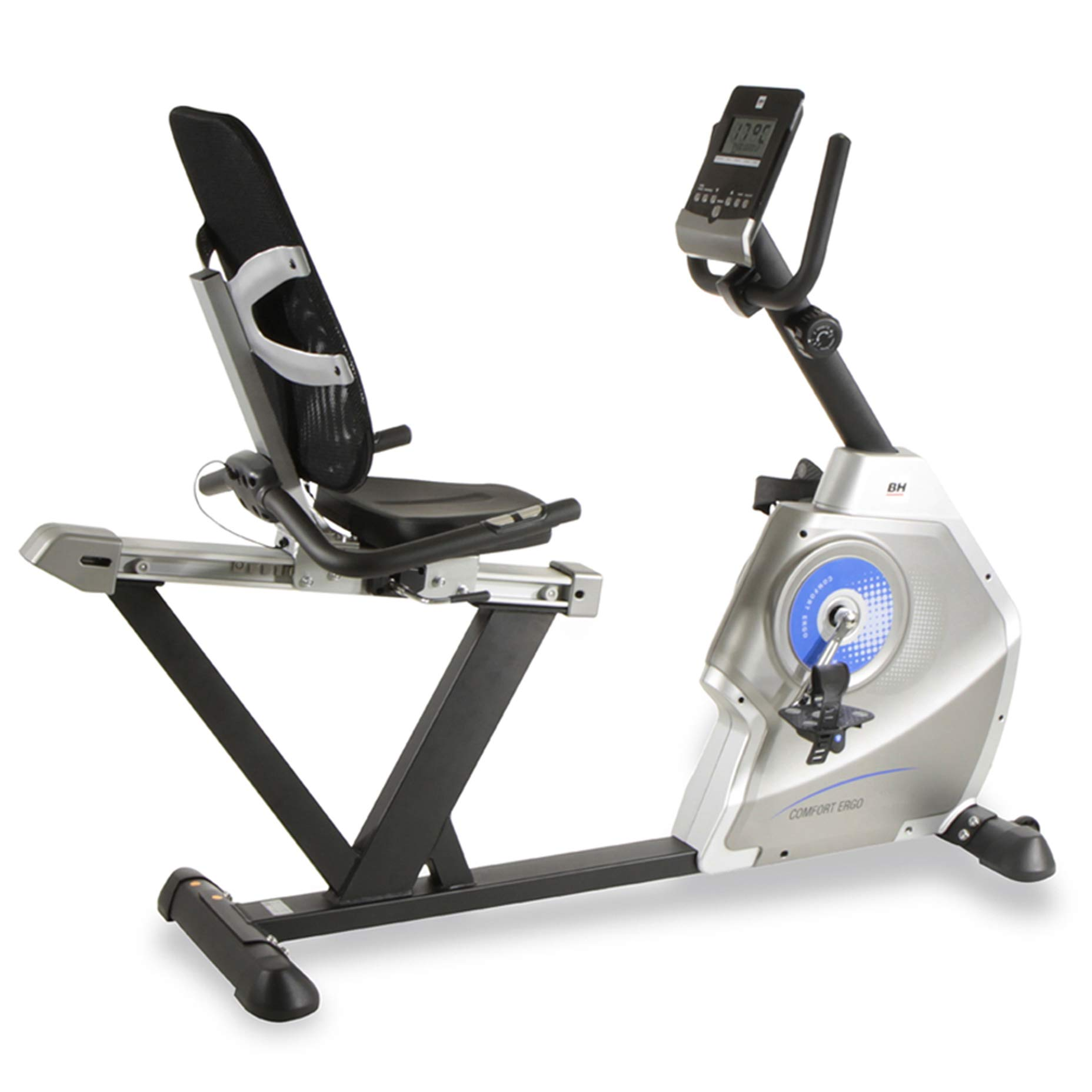 BH Fitness Comfort Ergo H852 Bicicleta reclinada: Amazon.es ...