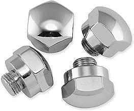 Colony Rocker Shaft End Plug Kit - Acorn Style - Chrome 7142-4