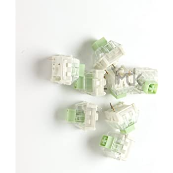 Wholesales 10 pcslot Kailh Box Navy Jade 3 pin Switches IP56 Water-Proof Compatible Cherry MX Switches (Green)