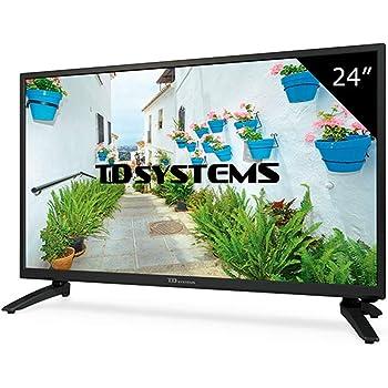 TD Systems K24DLH8H - Televisor Led 24 Pulgadas HD, resolución ...