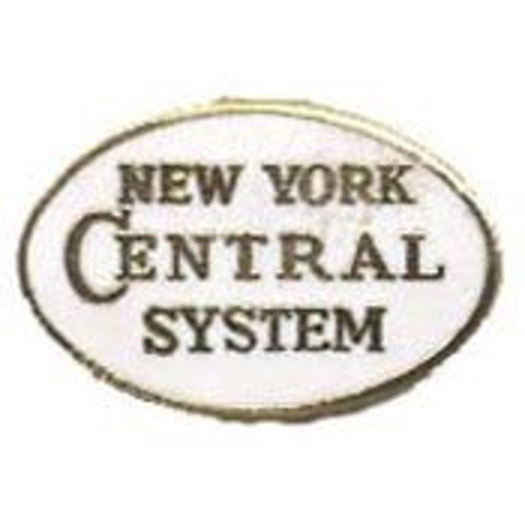 EagleEmblems P01007 Pin-RR,New York Central (1'')