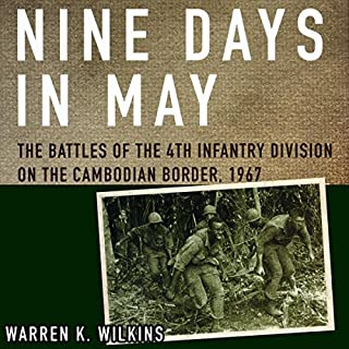 Nine Days in May audiobook cover art