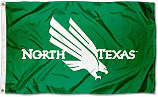 North Texas Mean Green Eagles University Large College Flag