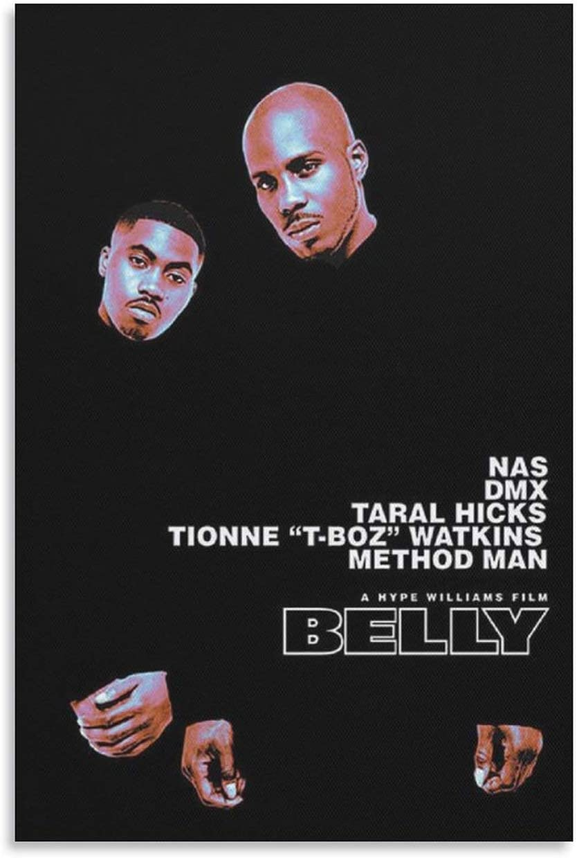 GDFG Rapper DMX Earl Simmons Belly Poster Cover Po 24x36 Movie Max 68% Max 78% OFF OFF