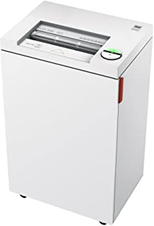 ideal. 2445 High Security Super Micro Cut Deskside Paper Shredder, Continuous Operation, 5-7 Sheet, 9 Gal. Bin, 1/2 HP Mot...