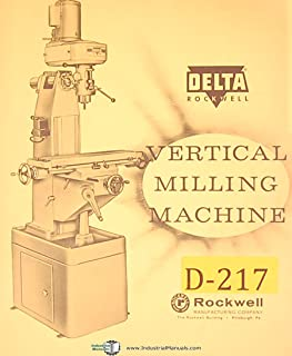 Delta Rockwell PM 450-01-651-5001, Vertical Milling Machine Operations and Service Manual