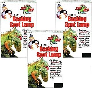 Zoo Med (3 Pack) Repti Basking Spot Lamp 50 watt