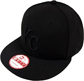 New Era Black On Black Snapback Cap 9fifty