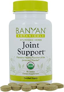 Banyan Botanicals Joint Support - USDA Organic - 90 tablets - Soothing Herbal Relief for Joints and Muscles*