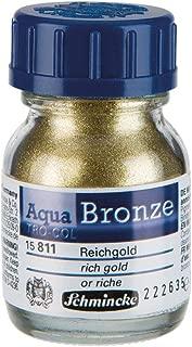 Schmincke Aqua Bronze Powder, 20ml Jar, Rich Gold, 1 Each (15811032)