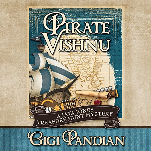 Pirate Vishnu audiobook cover art