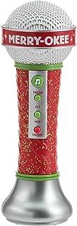 Hallmark Merry-Okee Christmas Karaoke Microphone, SoundLike an Elf with Auto-Tune