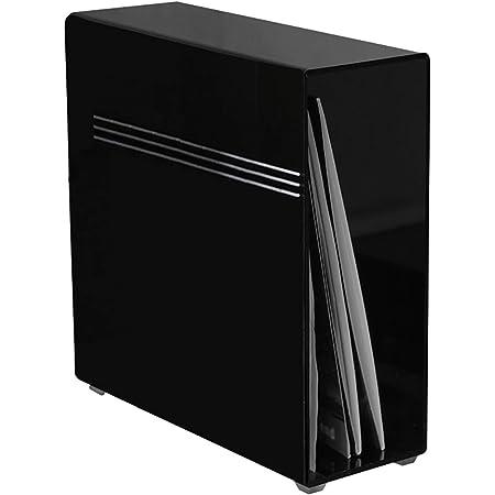 LP Vinilo acrílico Caja de almacenaje, Vinyl Disc Storage CD Box Estante de la Caja de almacenaje, Conveniente for 12 Pulgadas del Disco de Vinilo del Estante Display Rack (Size : 33 * 10 * 34.5cm)