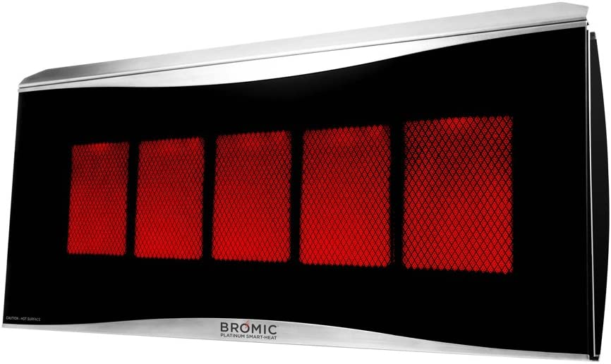 Bromic Heating BH0110003-1 Smart-Heat Infra Platinum National products Cheap mail order sales Radiant 500