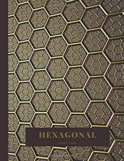 Hexagonal Graph Paper: Student lab Notebook Organic Chemistry Formulas. Biochemistry Notes Book hexagon pattern. Chem laboratory Journal carbon ... Properties, and Reactions of a Substance.