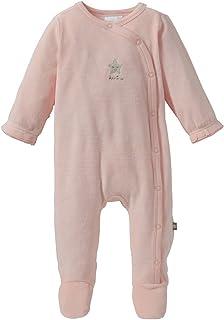 Baby M/ädchen Jungen Schlafstrampler Schlafanzug aus Nicki king bear
