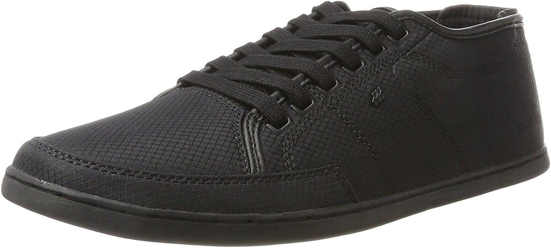 Boxfresh Sparko Sh Black Black Rip Nylon Mens Trainers shoes