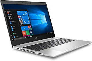 """HP ProBook 450 G7 Intel Core i5, 8GB RAM, 1TB HDD, NVIDIA GeForce MX130 2GB, 15.6"""" HD Display, DOS With Carry Case - Silver"""
