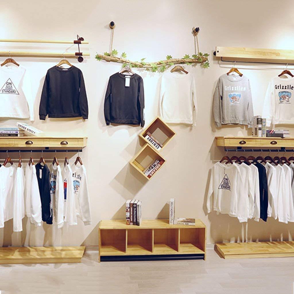 BAI Perchas para el hogar de madera, perchas de pared, tienda de