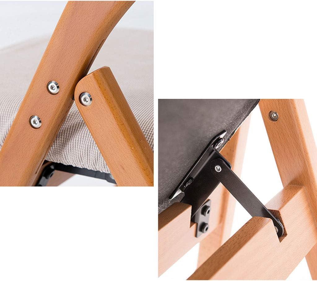 AJZGFChaise de salle à manger, chaise de cuisine Chaise de salle à manger en bois massif avec chaise nordique et chaise de loisirs, chaise pliante (Color : C) C