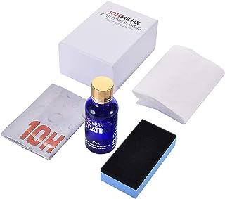 coldwhite TeFuAnAn 10H セラミックコーティング剤 硬化ガラスコーティング剤 ヘッドライトコーティング剤 バリアスコートコーティング剤セット耐久性優れ 完全硬化型ヘッドライトコーティング剤 高撥水 UV吸収剤配合 保護ツヤ出...