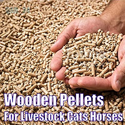 2you Animal Bedding Pellets Wood Pine 15kg Bag For Small Large Livestock Horses Rabbits Pets, Cat Litter by 2you