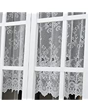 ユイツ ミラーレースカーテン 小窓用 出窓用スタイルレースカーテン