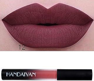 Winwintom Impermeable Long Lasting Liquid Velvet Matte Lipstick Maquillaje Lip Gloss (L)