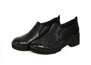 حذاء جلد للنساء