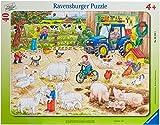 Ravensburger 06332 Nella grande Fattoria- Puzzle incorniciato da 40 pezzi...