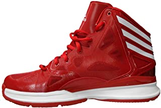 Adidas Mens Crazy Shadow 2 (Red/White) Basketball Shoes Size 11.5