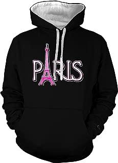 Paris Eiffel Tower - France Tourist Unisex Hoodie Sweatshirt